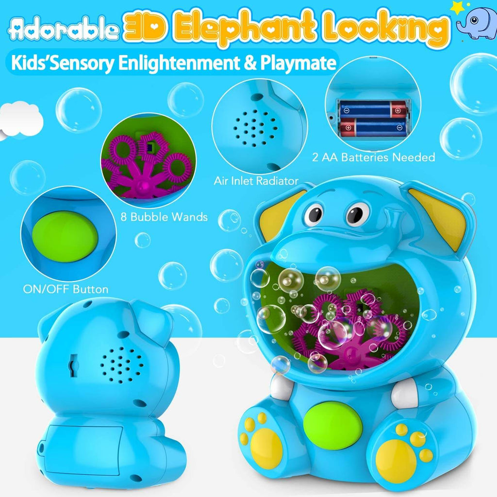 Elephant Bubble Machine