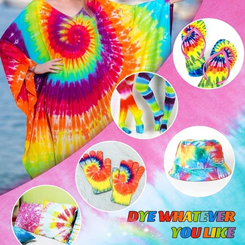 WisToyz Tie Dye Kit Kids (154pcs)
