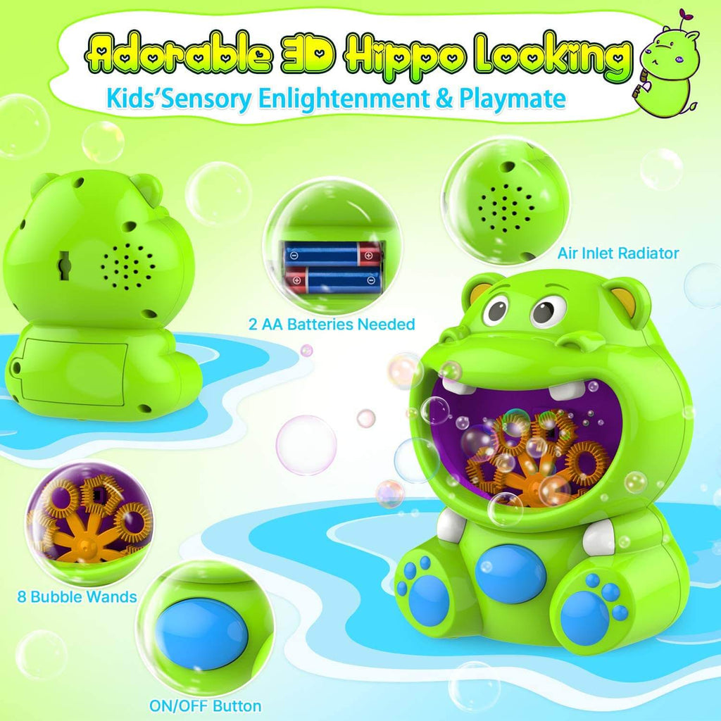 Hippo Bubble Machine