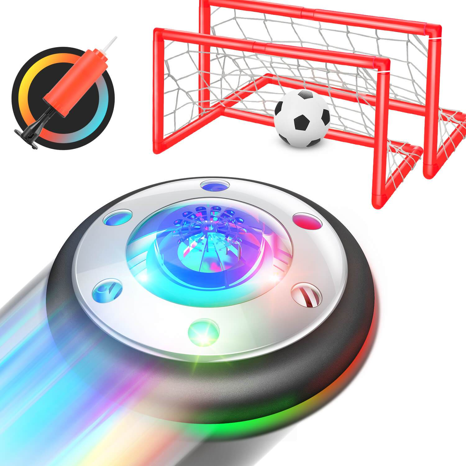 Geospace Hover Soccer Deluxe Air Hockey Game
