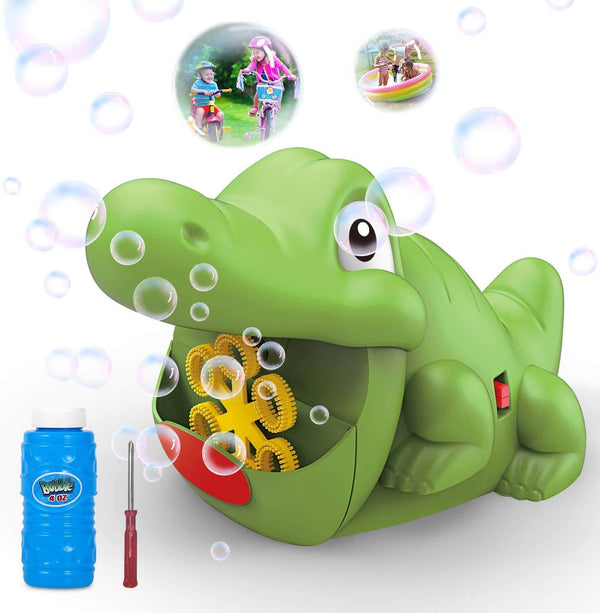 WisToyz Croco Bubble Machine
