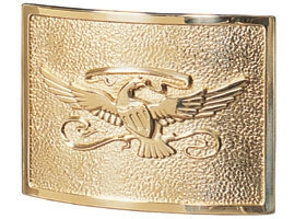 Eagle Plaque in Polished Brass | Gaines Manufacturing, Inc