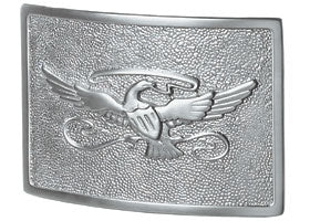 Eagle Plaque in Satin Nickel | Gaines Manufacturing, Inc
