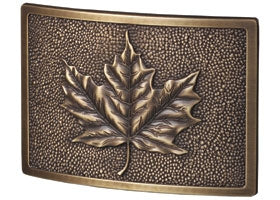 Leaf Plaque in Antique Nickel | Gaines Manufacturing, Inc