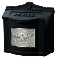 Black with Satin Nickel Eagle | Gaines Manufacturing, Inc.