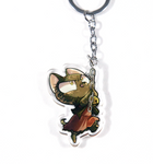 Climbing Cat Piper Keychain