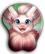 Belfry Bat 3D Fluffy Mousepad