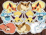 Chubby Pokemon Sticker Pack