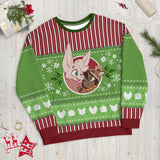 "Belfry & Tamberlane ""Ugly"" Christmas Sweater"
