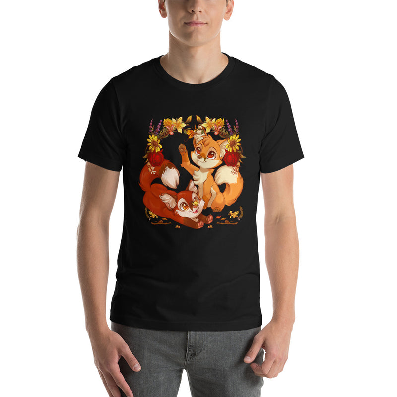 Autumn Foxes T-Shirt