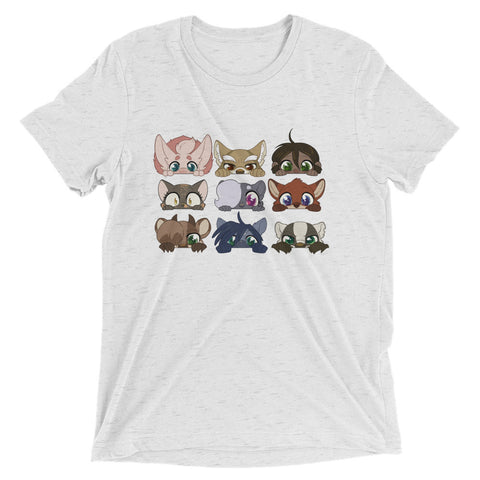 Peeking Profiles T-shirt