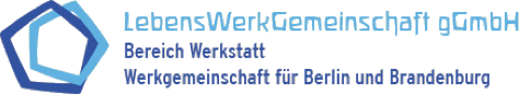 Logo Lebenswerkgemeinschaft Vocational and social rehabilitation institution for people with disabilities