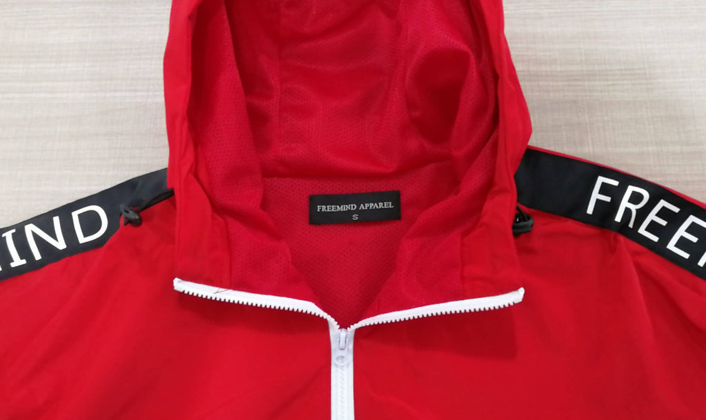 FREEMIND WINDBREAKER JACKET - The Brand Base