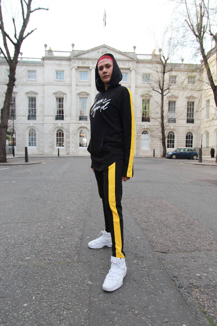 Forever A Legend Unisex Tracksuit (YELLOW) - The Brand Base