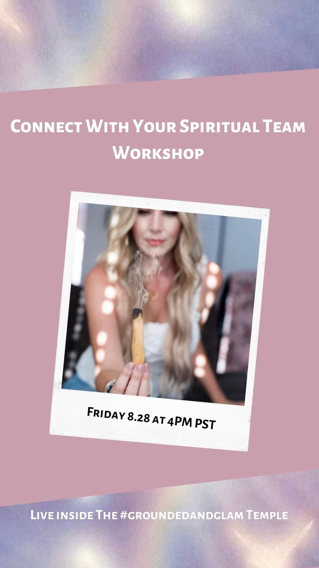 Connect With Your Spirit Team Workshop