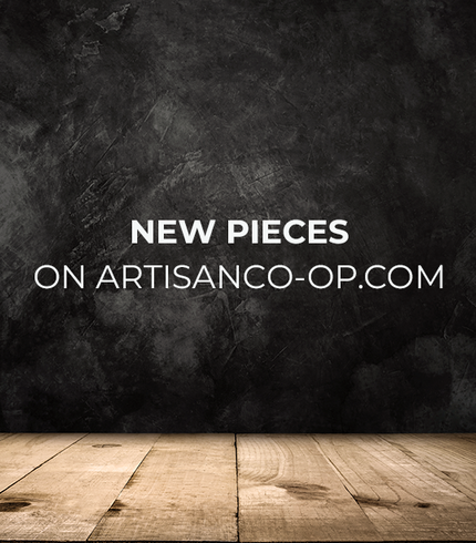 NEW PIECES on ArtisanCo-Op.com