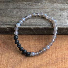 """GROUND ME"" GRAY AGATE DIFFUSER"