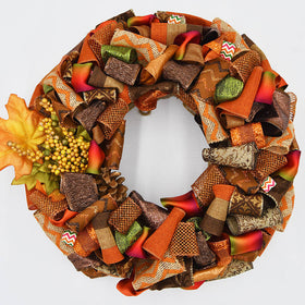 Classic Fall Wreath
