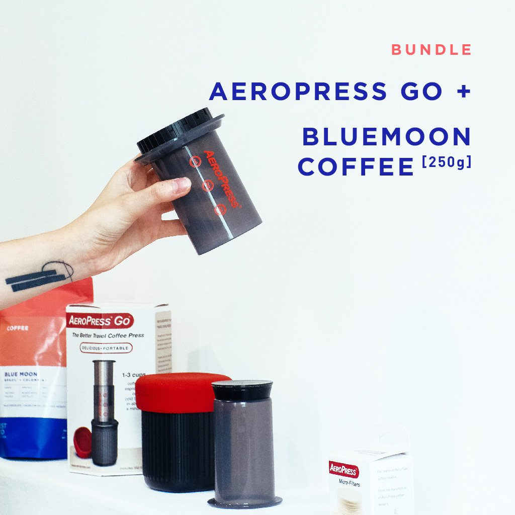 Bundle: Aeropress Go + Coffee