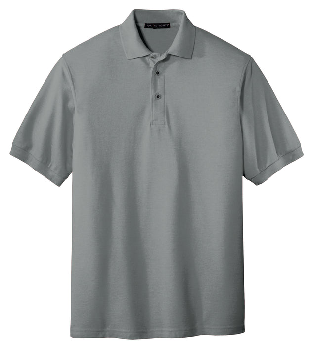 Port Authority K500 Men's polo (poly/cotton)