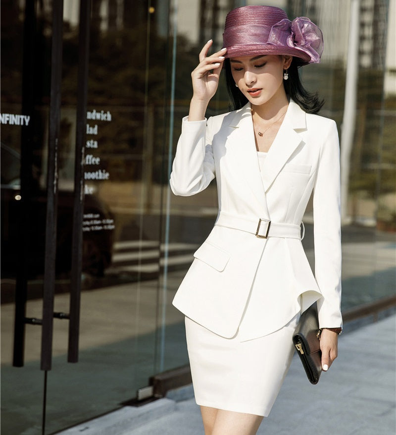 Elegant Women Dress Suits Stylish Business Attire Formal Office New Work Blazers