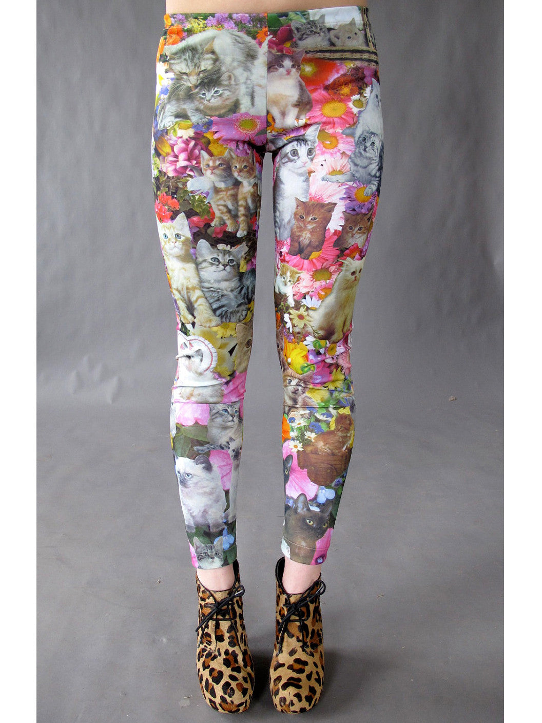 Kitty Garden Party Leggings
