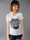 Mutant Kitty T Shirt. White