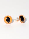 Amber Eye Earrings