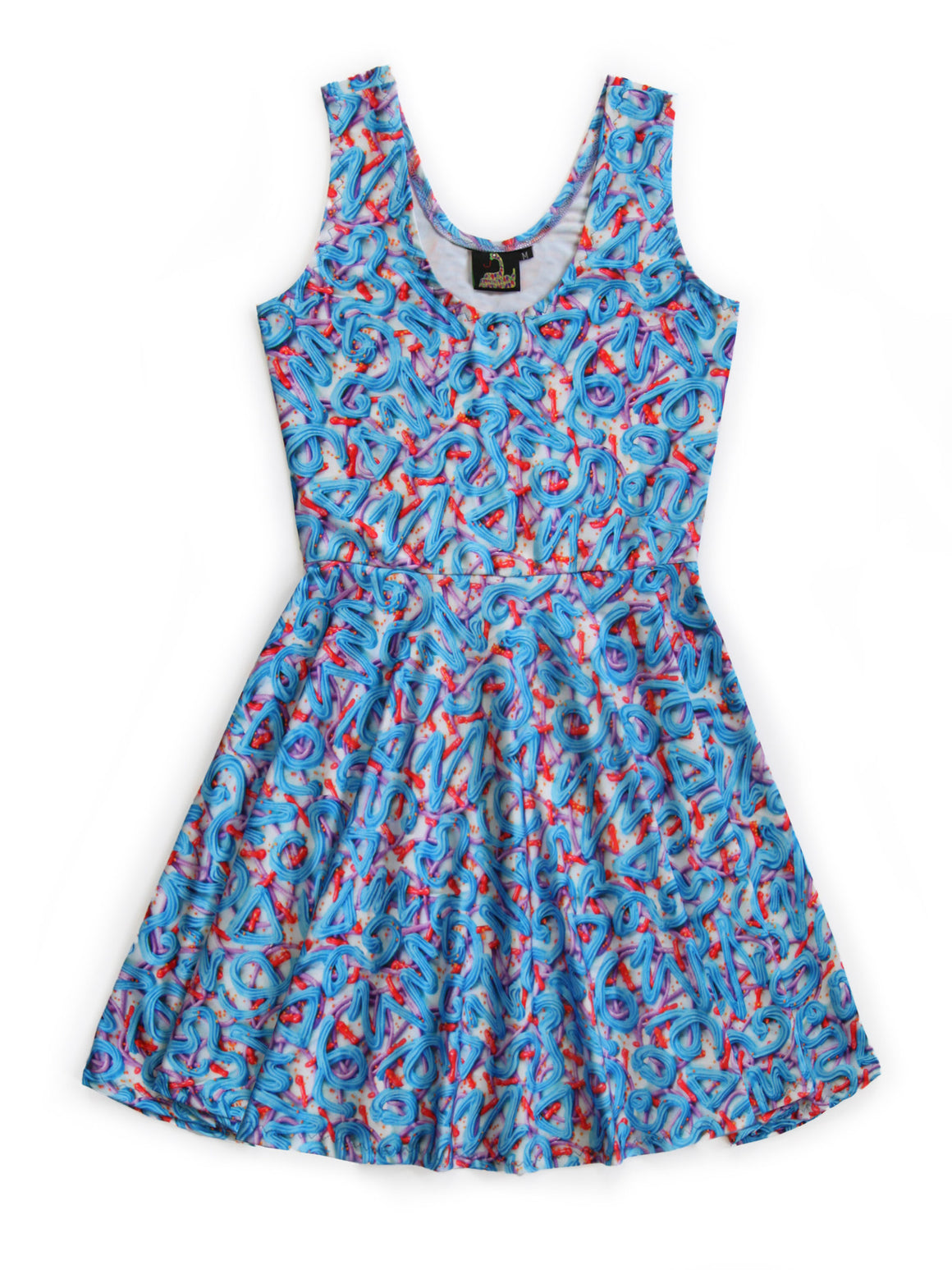 Blue Frosting Fit and Flare Dress