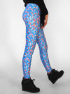 Blue Frosting Leggings