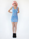 Blue Frosting Mini Dress