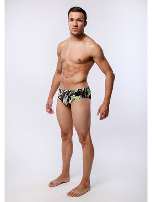 Brush Stoke Swim Brief