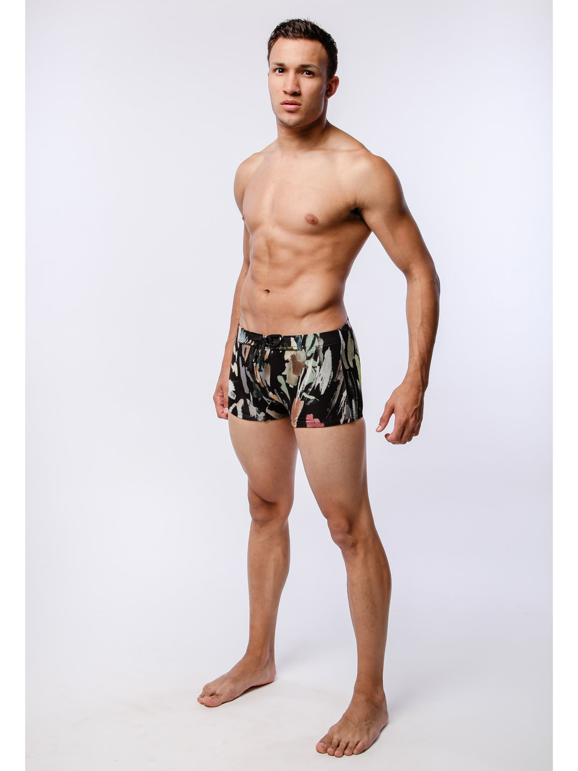 Brushstroke Swim Trunk