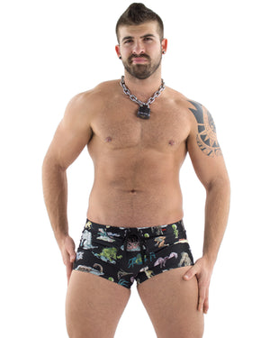 Cryptids Swim Trunk