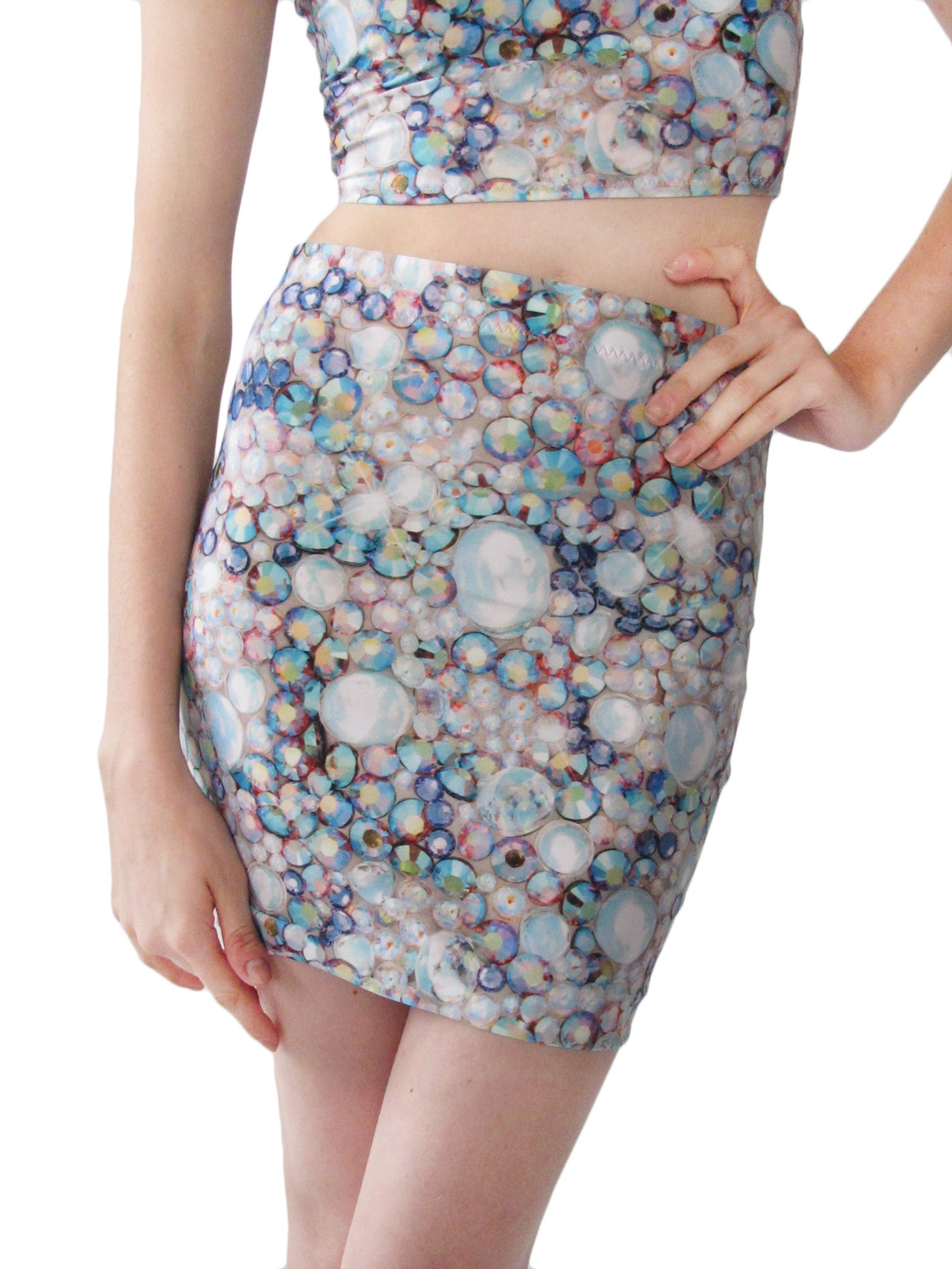 Crystal Mini Skirt