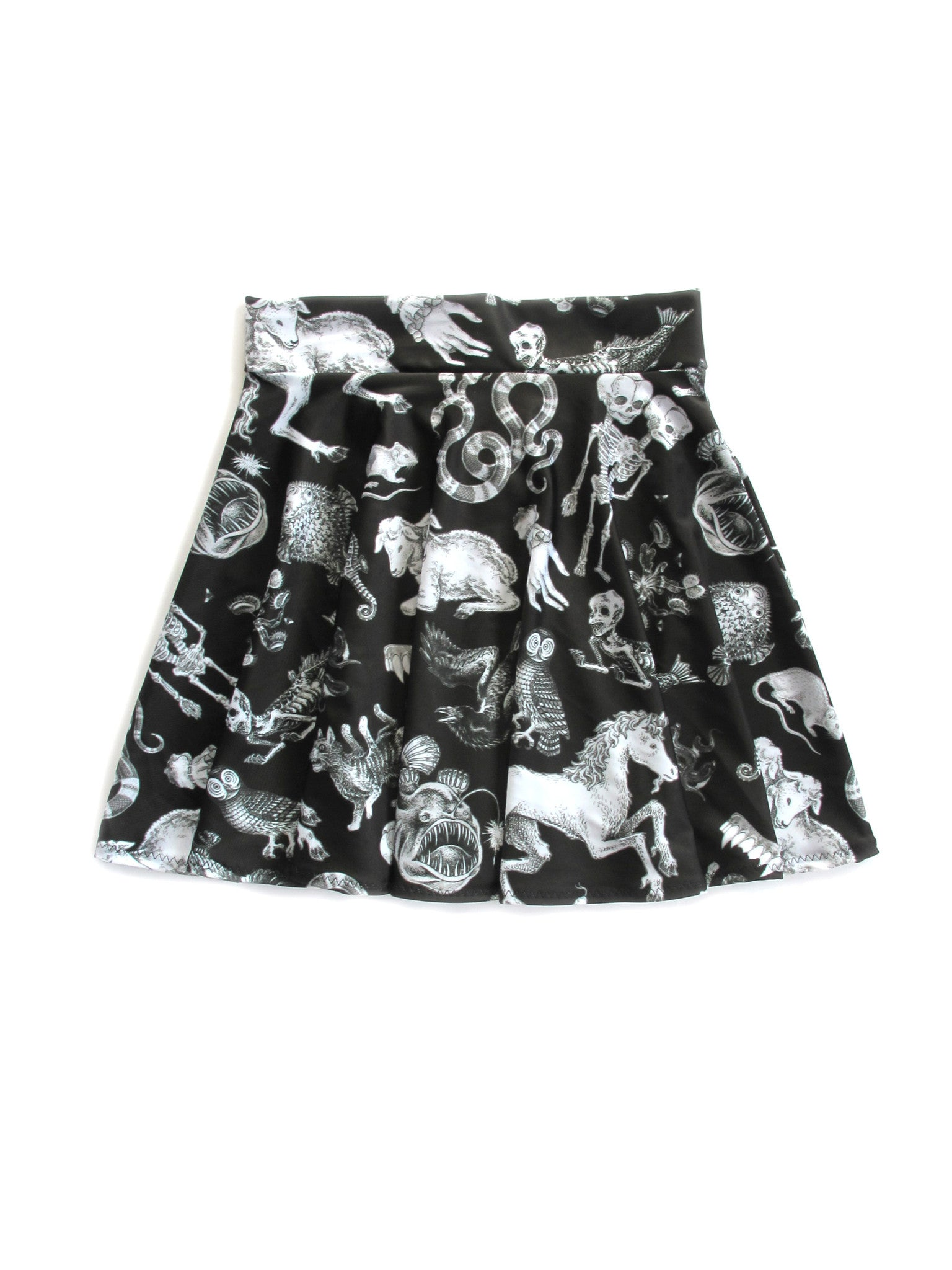 Freak of Nature Skater Skirt in Black