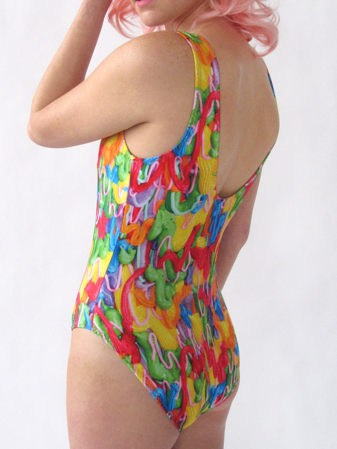 Drippy Frosting One Piece Swimsuit