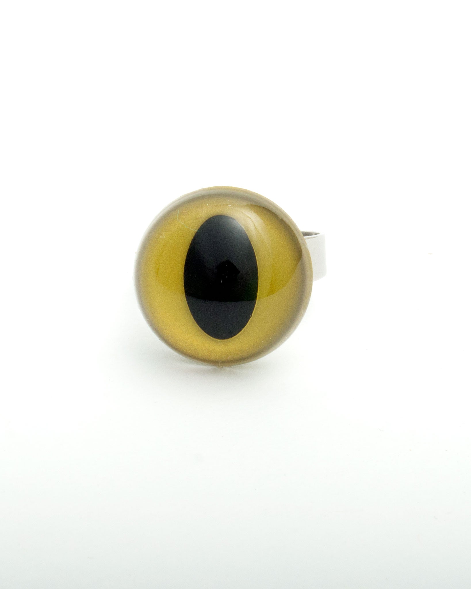 Gold Cat Eye Ring