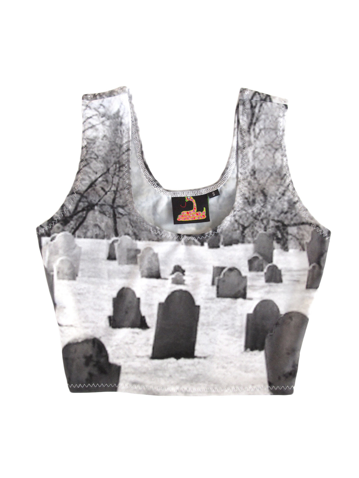 Graveyard Crop Top