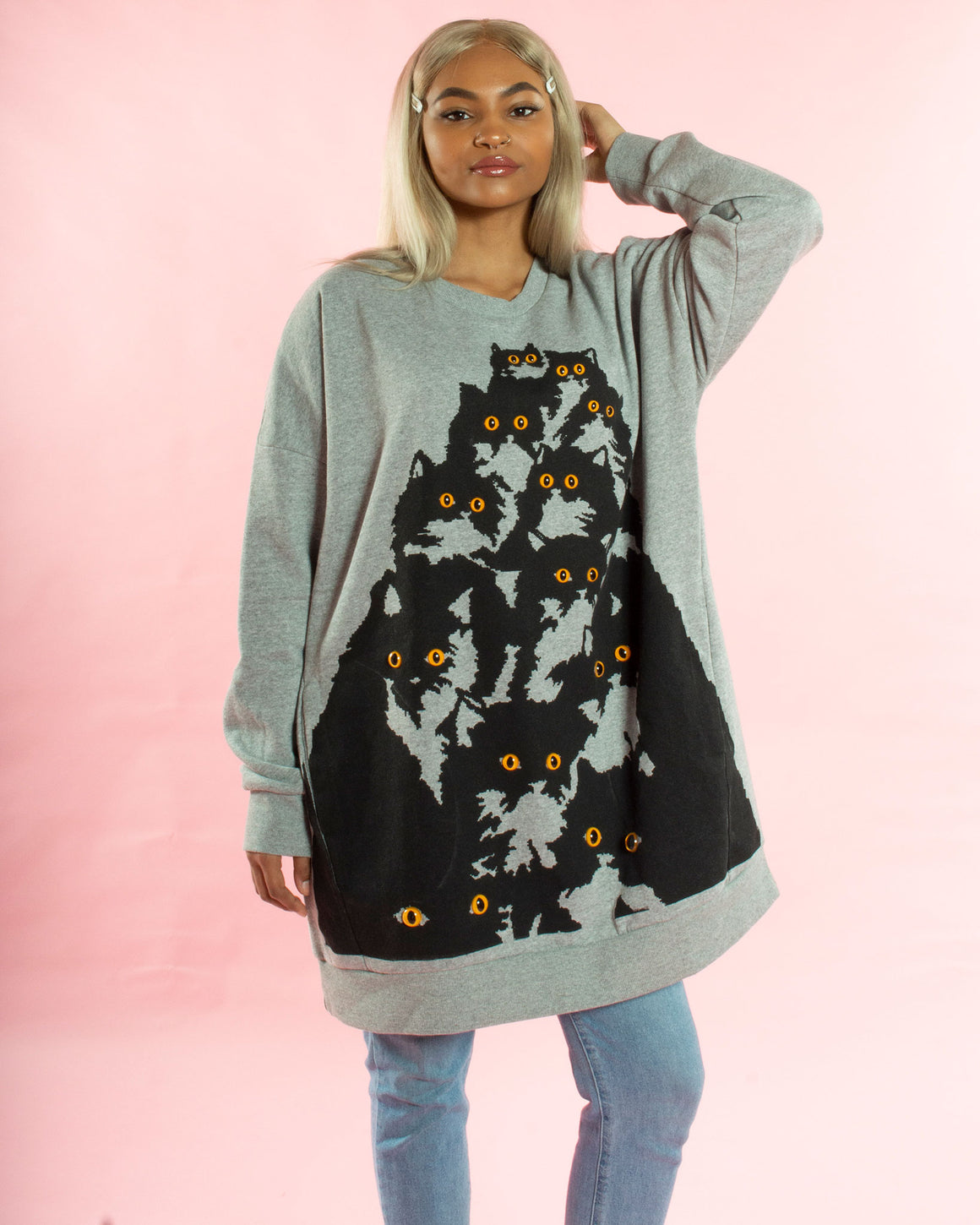 Crazy Kitty Sweatshirt