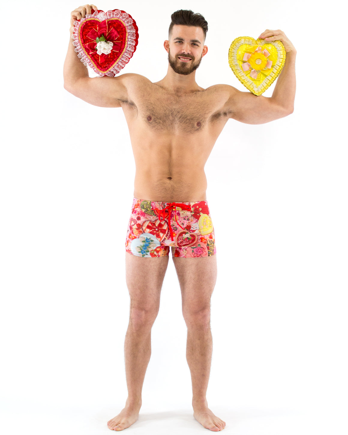 Valentines Swim Trunk
