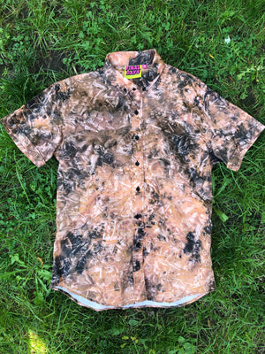 Fossilized Discharge Dyed Shirt