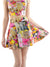 Kitty Garden Party Skater Skirt