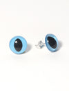 Blue Eye Stud Earrings