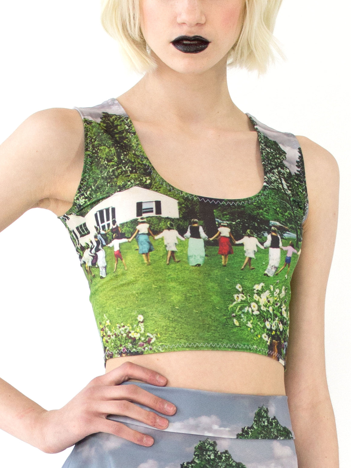 May Day Crop Top
