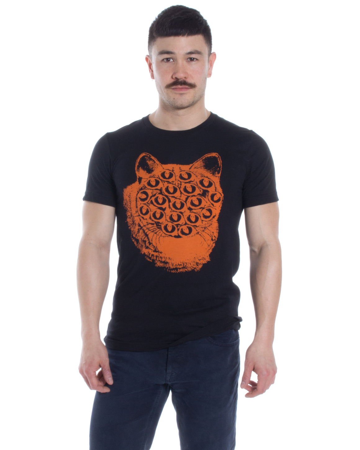 Mutant Kitty T Shirt. Black