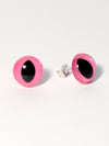 Pink Eye Earrings