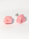 Pink Tooth Earrings