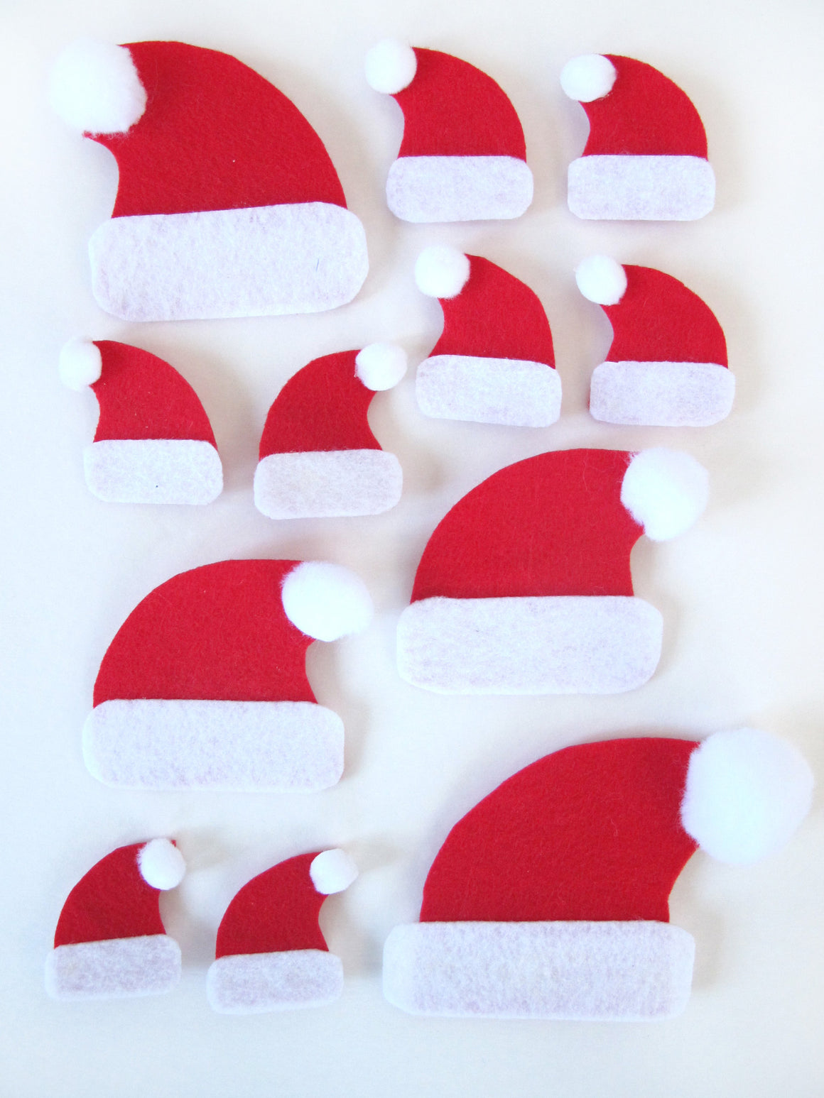 Santa Hat Pin Set