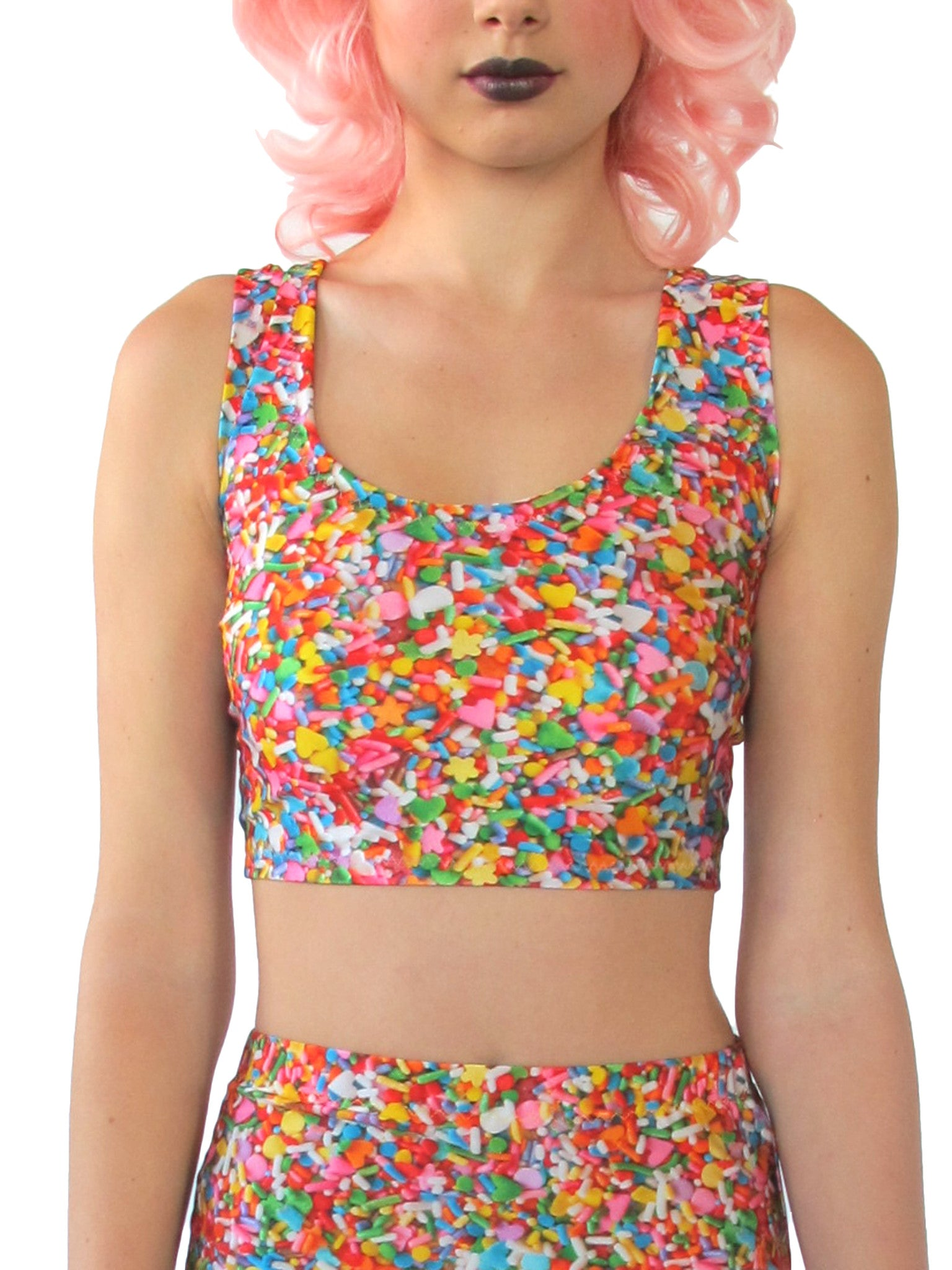 Sprinkles Crop Top